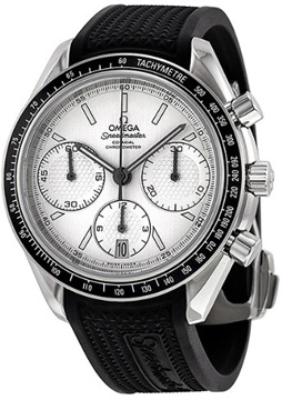 omega racing co axial chronograph 40 mm. Black Bedroom Furniture Sets. Home Design Ideas
