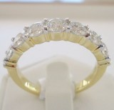 Alliance Ring aus 750 Gelbgold mit 1.45ct. Brillanten