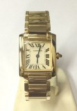 Cartier Tank Francaise Gold PM  W50002N2