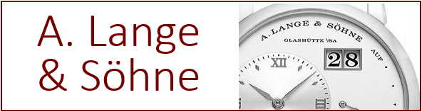 Buy A. Lange & Söhne watches online at discount