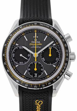 omega omega racing co axial chronograph 40 mm. Black Bedroom Furniture Sets. Home Design Ideas